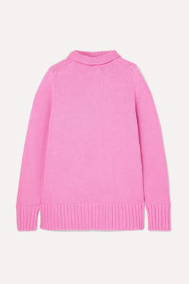 Joseph Sloppy Joe Cotton-blend Turtleneck Sweater
