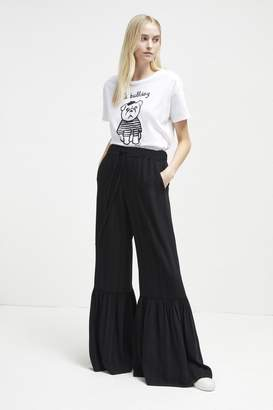 French Connection Aleida Suiting Bell Bottom Trousers