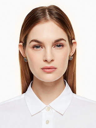 Kate Spade Semiprecious small square studs