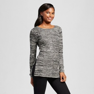 Women's Marled Tunic with Side Slits - Heather B $54.99 thestylecure.com
