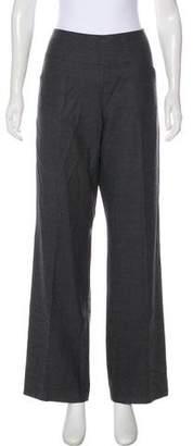 Armani Collezioni High-Rise Wool Pants