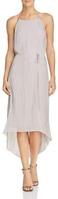 Sam Edelman Pleated High/Low Dress