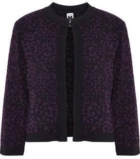 M Missoni Bouclé Jacquard-Knit Jacket