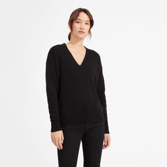 Everlane The Cashmere Oversized V-Neck