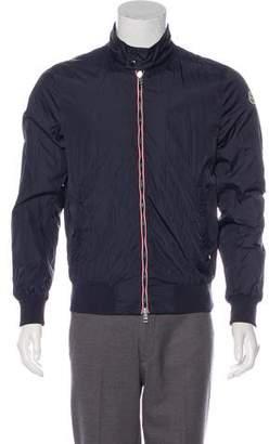 Moncler Windbreaker Zip-Front Jacket