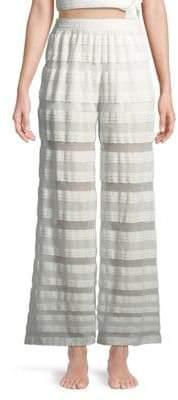 Jonathan Simkhai Mesh Lace Coverup Pants