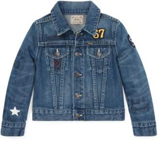 0380e5cfa000 at Orchard Mile · Ralph Lauren Kids Polo Bear Denim Jacket