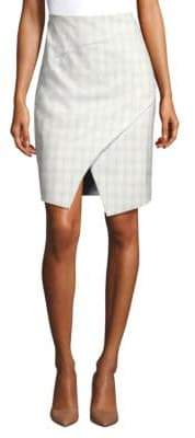 Elie Tahari Manders Wrap Pencil Skirt
