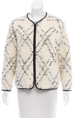 Ulla Johnson Bouclé Knit Jacket