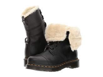 Dr. Martens Aimilita FL 9-Eye Toe Cap Boot