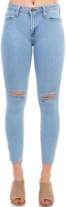 Just Black Slit-Knee Skinny Jean