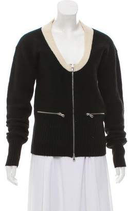 Marc by Marc Jacobs Cashmere Long Sleeve Cardigan
