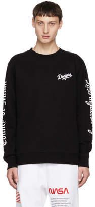 Marcelo Burlon County of Milan Black LA Dodgers Sweatshirt