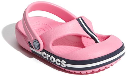 Crocs 'Crocband' Flip Flop (Walker, Toddler & Little Kid)