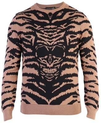 Alexander McQueen Intarsia Wool Sweater