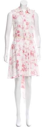 Band Of Outsiders Linen Mini Dress w/ Tags