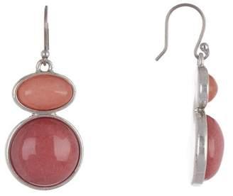 Lucky Brand Berry Stone Drop Earrings