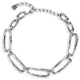 Uno de 50 Chained Silver Necklace