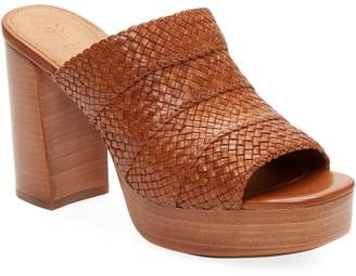 Frye Women's Katie Woven Platform Sandal