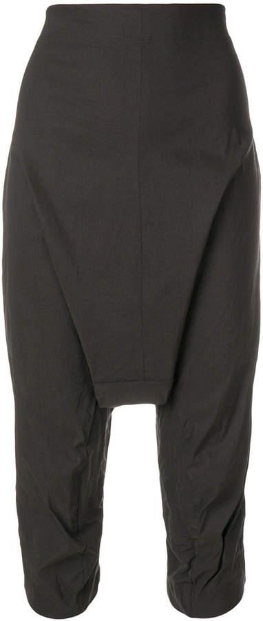 Rundholz Amethyst drop crotch trousers