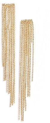 Women's Panacea Chain Fringe Earrings $24 thestylecure.com