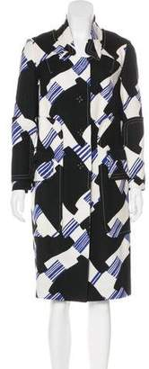 Christian Lacroix Geometric Long Coat