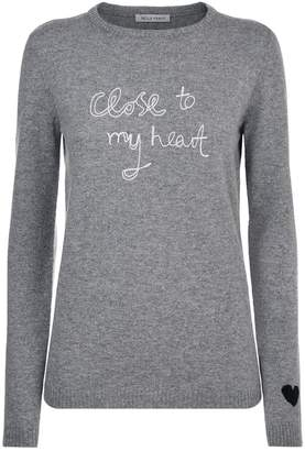 Bella Freud Close To My Heart Cashmere Sweater