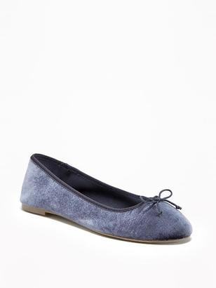 Velvet Ballet Flats for Women $19.94 thestylecure.com