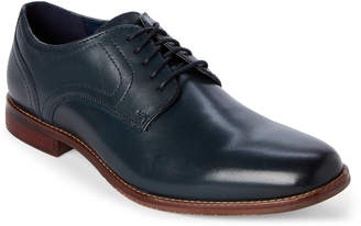 Rockport Navy Style Purpose Plain Toe Derby Shoes