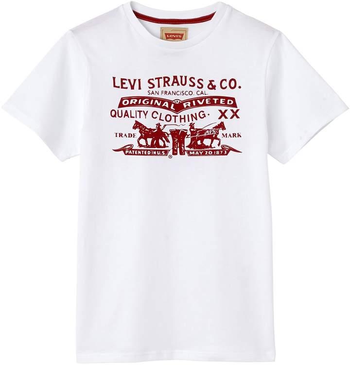 Kids Horses - Kurzärmeliges T-Shirt - weiß