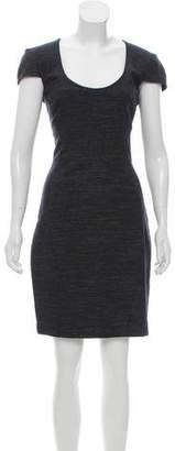 L'Agence Denim Sheath Dress