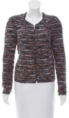 Etoile Isabel Marant Knit Bouclé Zip-Up Jacket