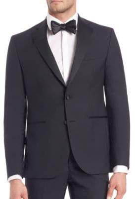 Saks Fifth Avenue Modern Tuxedo Jacket