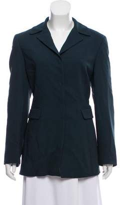 Halston Structured Long Sleeve Blazer