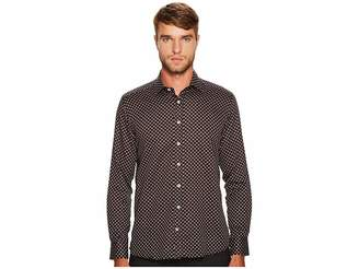 Etro Kissing Penguins Button Down Shirt Men's Long Sleeve Button Up