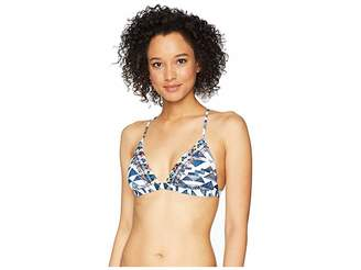 Lucky Brand Going South Banded Triangle Bra