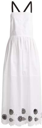 Rachel Comey Borough Broderie Anglaise Cotton Blend Dress - Womens - White