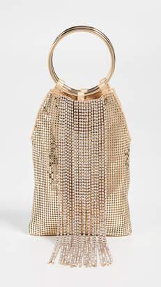 Whiting & Davis Cascade Crystal Bracelet Bag