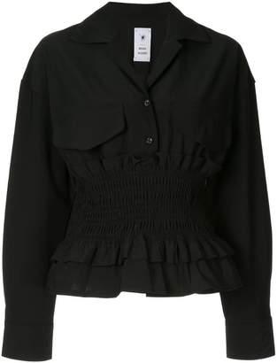 Puma Maison Yasuhiro ribbed blouse