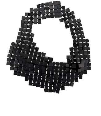 Monies multi cube statement necklace