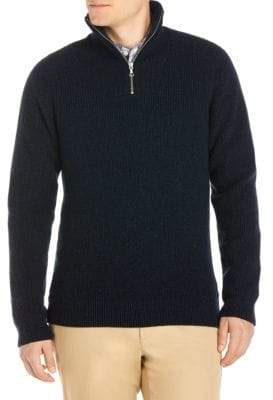 Lacoste Knitted Wool Sweater