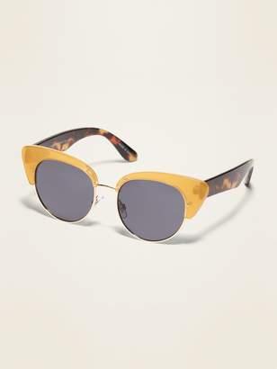 Old Navy Cat-Eye Half-Frame Sunglasses for Women
