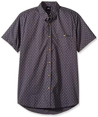 Rusty Men's Sessions Short Sleeve Shirt