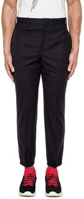 Neil Barrett Blue Wool Trousers