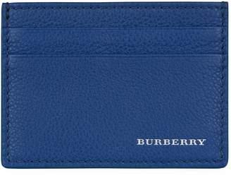 Burberry Leather Logo Card Holder