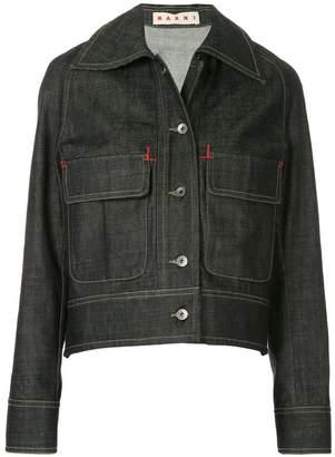 Marni flap pocket denim jacket
