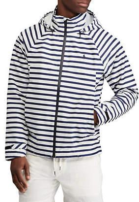 Polo Ralph Lauren Stripe Raglan-Sleeve Hooded Jacket