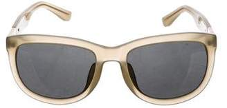 The Row x Linda Farrow Oversize Tinted Sunglasses
