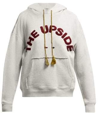 The Upside Free Spirit Cotton Fleece Sweatshirt - Womens - Grey