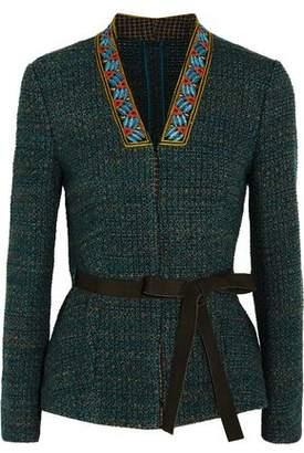 Etro Embellished Tweed Jacket